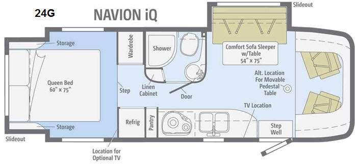 Floorplan - 2014 Itasca Navion IQ 24G