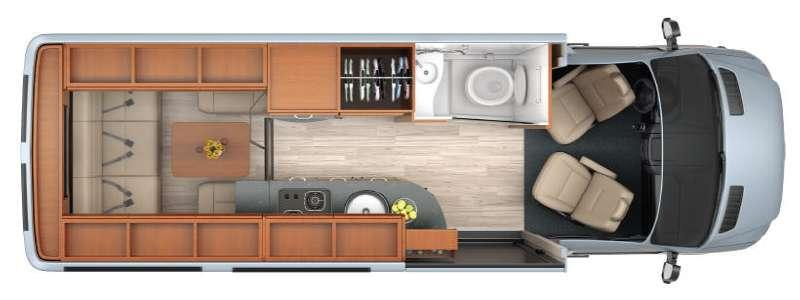 Floorplan - 2014 Leisure Travel Free Spirit Free Spirit