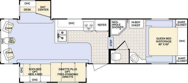 Colorado 31RL Floorplan