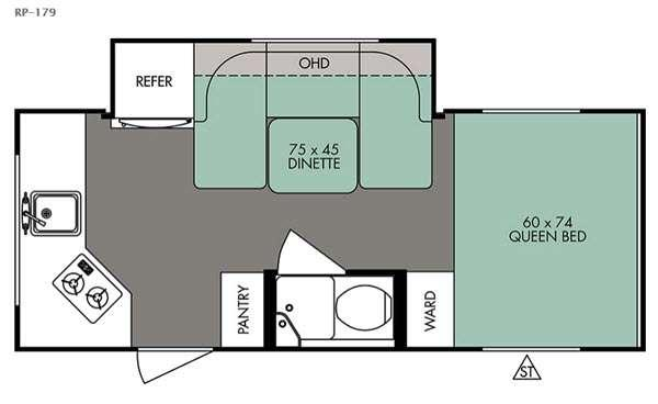 R Pod RP-179 Floorplan Image