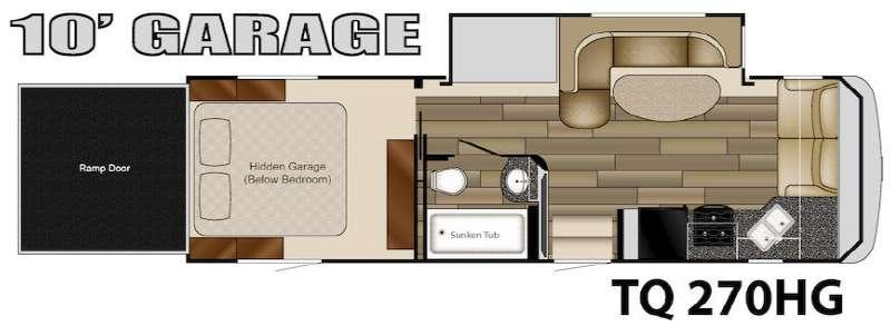 Floorplan - 2015 Heartland Torque TQ 270HG