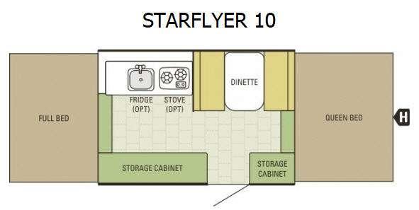 Floorplan - 2015 Starcraft Starflyer Starflyer 10