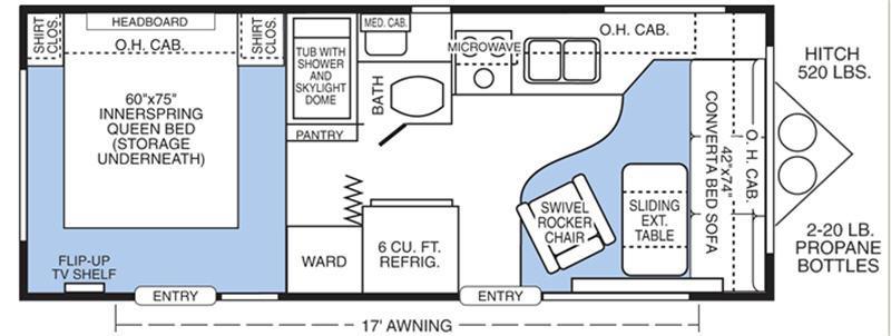 Floorplan - 2007 Sunline Solaris T-2363