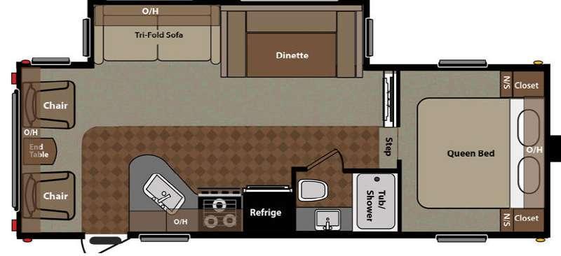 Floorplan - 2015 Keystone RV Springdale 242FWRLSSR