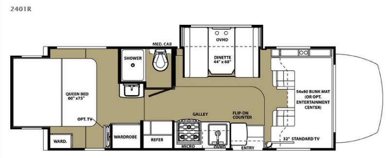 Forester MBS 2401R Floorplan Image