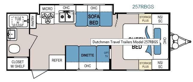 Floorplan - 2015 Dutchmen RV Dutchmen 257RBGS