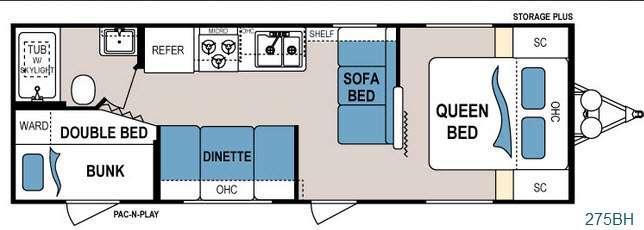 Floorplan - 2015 Dutchmen RV Dutchmen 275BH