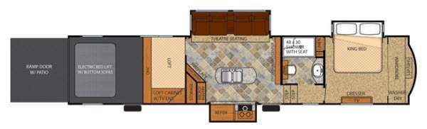 Vengeance Touring Edition 39C14 Floorplan