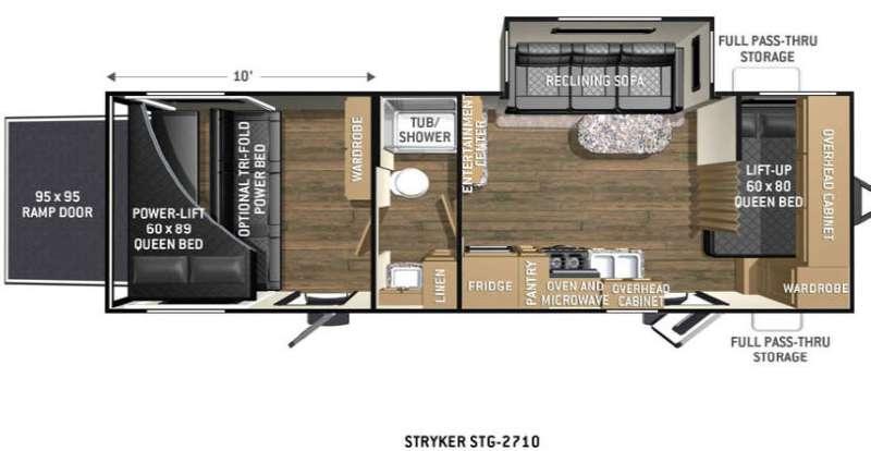 Floorplan - 2016 Cruiser Stryker STG-2710