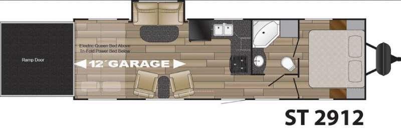 Floorplan - 2016 Cruiser Stryker ST-2912