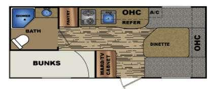 Floorplan - 2015 Travel Lite idea i17