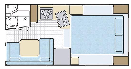 Floorplan - 2007 Lance 845