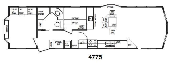 Floorplan - 2015 Kropf Industries Canadian Series 4775