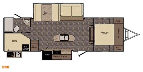 Sunset Trail Reserve ST28BH Floorplan Image