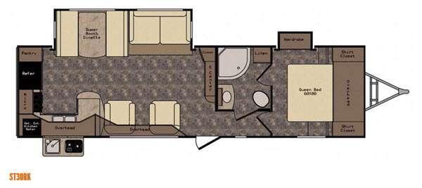 Sunset Trail Reserve ST30RK Floorplan Image