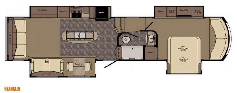 Floorplan - 2016 CrossRoads RV Rushmore Franklin