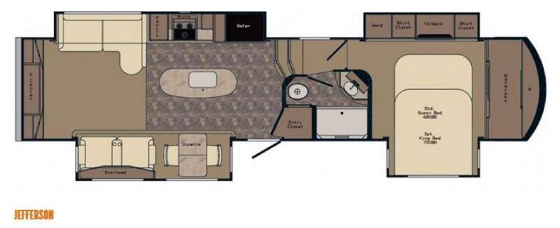 Floorplan - 2016 CrossRoads RV Rushmore Jefferson