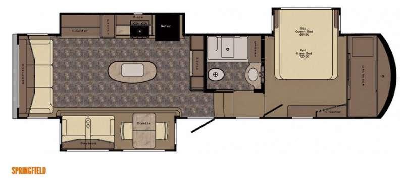 Floorplan - 2016 CrossRoads RV Rushmore Springfield
