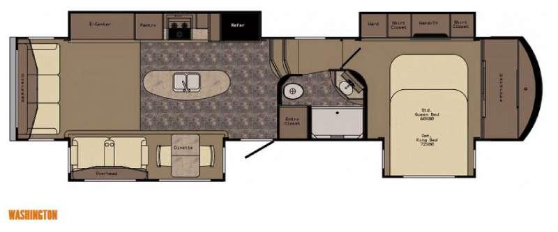 Floorplan - 2016 CrossRoads RV Rushmore Washington
