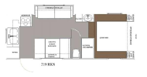 Floorplan - 2015 Allen Camper Manufacturing Idle-Time 219 RKS