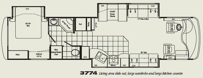 Floorplan - 2007 Damon Astoria 3774