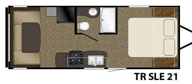 Trail Runner 21SLE Floorplan Image