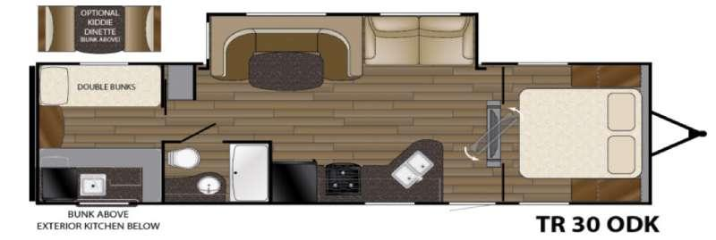 Trail Runner 30ODK Floorplan Image