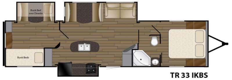 Trail Runner 33IKBS Floorplan Image