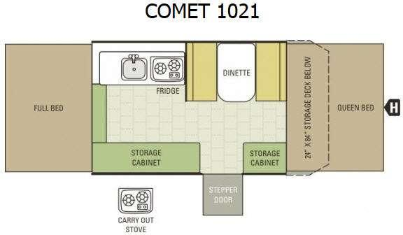 Comet 1021 Floorplan Image