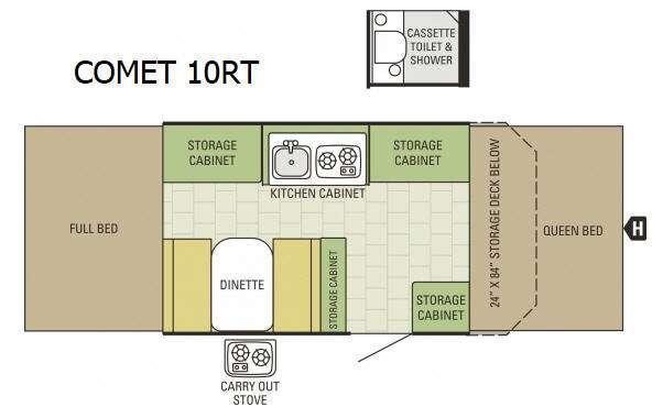 Comet 10RT Floorplan Image