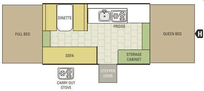 Comet 1220 Floorplan Image