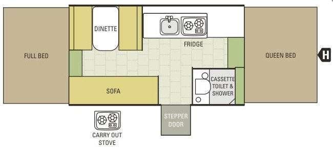 Comet 1221 Floorplan Image