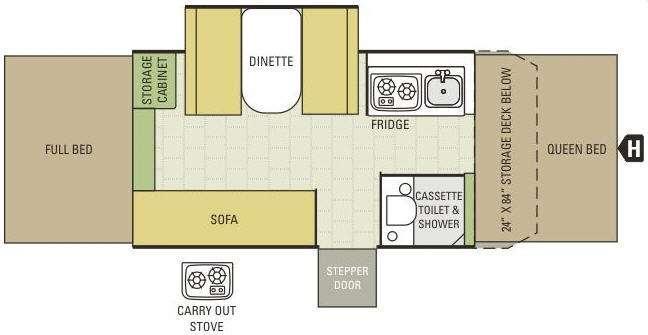 Comet 1226 Floorplan Image