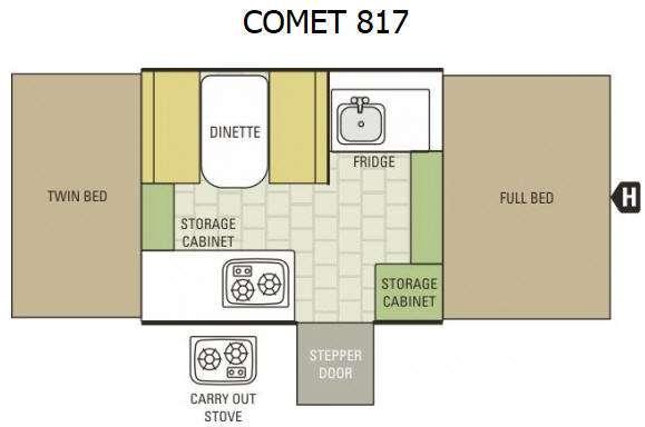 Comet 817 Floorplan Image