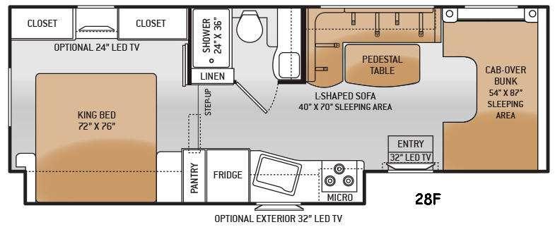 Four Winds 28F Floorplan Image