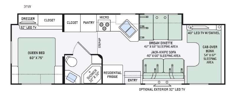 Four Winds 31W Floorplan Image