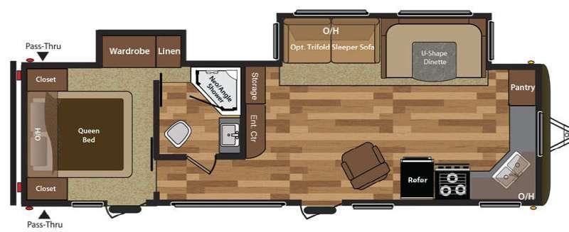 Hideout 30FKDS Floorplan Image