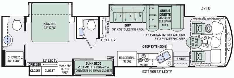Challenger 37TB Floorplan Image