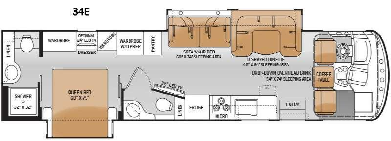 Hurricane 34E Floorplan Image