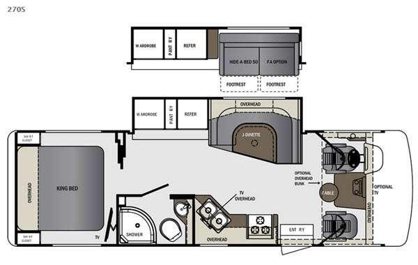Floorplan - 2016 Forest River RV Georgetown 270S