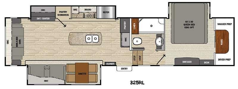 Brookstone 325RL Floorplan