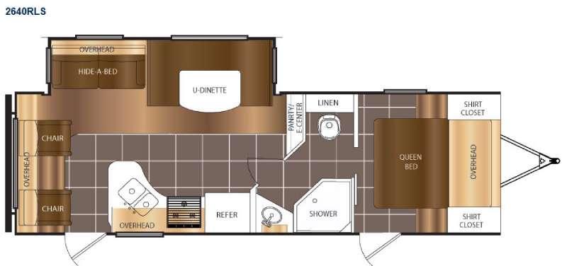 Tracer 2640RLS Floorplan Image