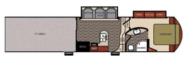 Work and Play Catalyst 40WCH Floorplan Image