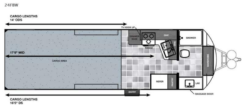 Work and Play 24FBW Floorplan Image