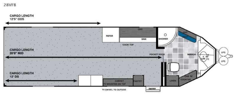 Work and Play 28VFB Floorplan Image