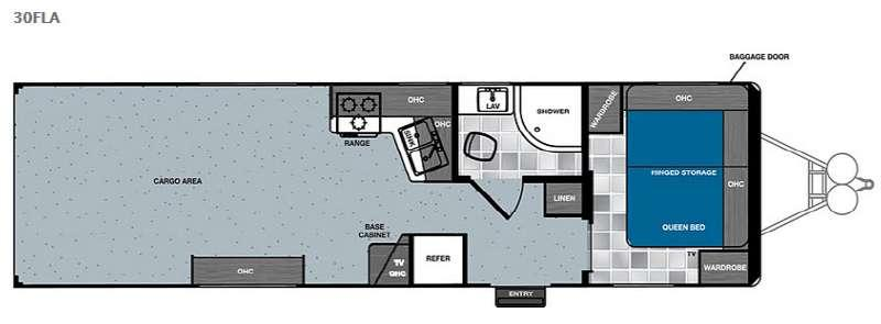 Work and Play 30FLA Floorplan Image