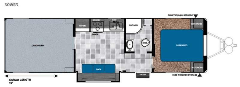 Work and Play 30WRS Floorplan Image