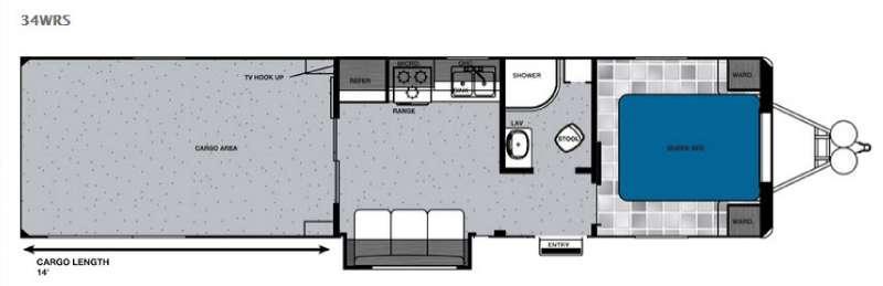 Work and Play 34WRS Floorplan Image