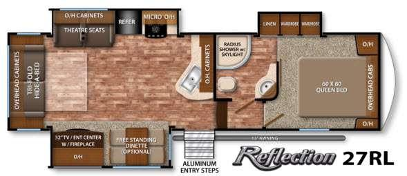 Reflection 27RL Floorplan Image