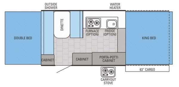 Jay Series 1001XR Floorplan Image